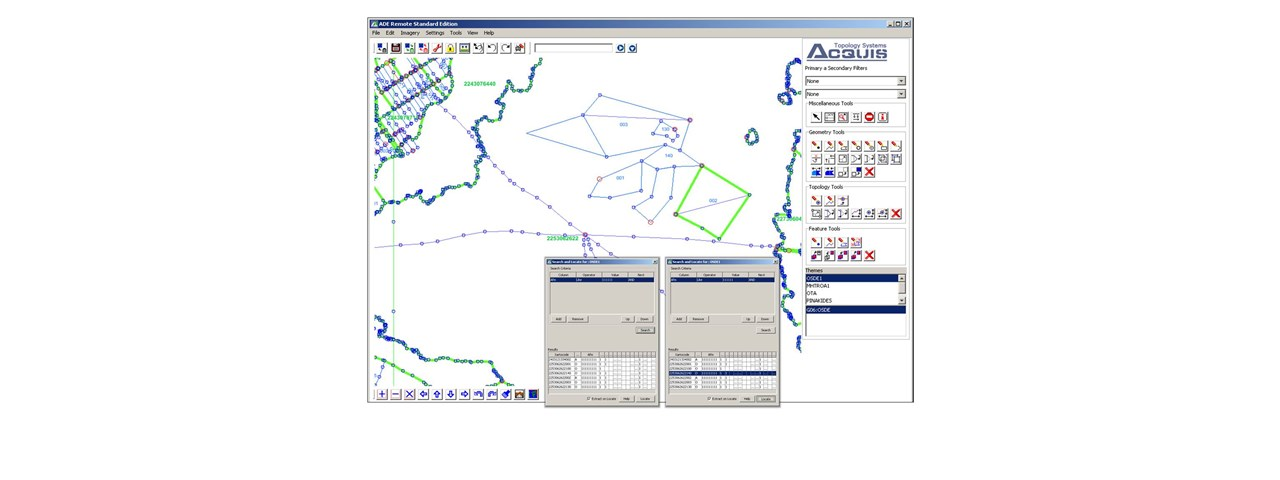 GIS working environment